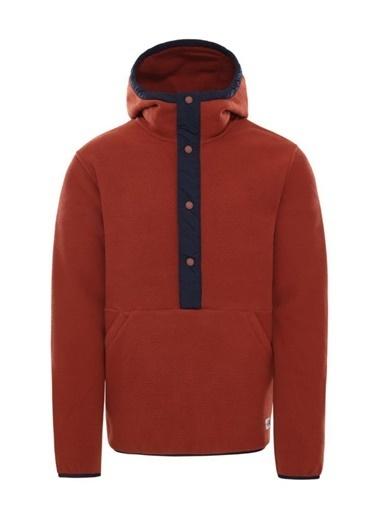 The North Face Erkek Sweatshirt Carbondale 1/4 Snap Nf0A4Qzcu261 Renkli